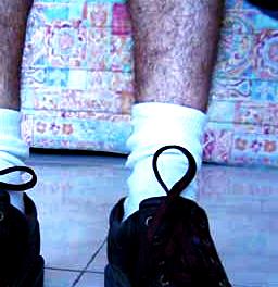 Geezer Alert: Keep Your ShoesOn